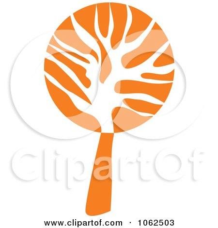 Clipart Orange Tree Logo 2 - Royalty Free Vector ...  Clipart Orange ...