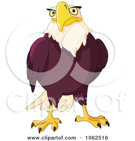Clipart Bald Eagle - Royalty Free Vector Illustration by yayayoyo