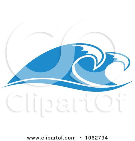 Clipart Ocean Wave Design Element 11 - Royalty Free Vector Illustration by Vector Tradition SM
