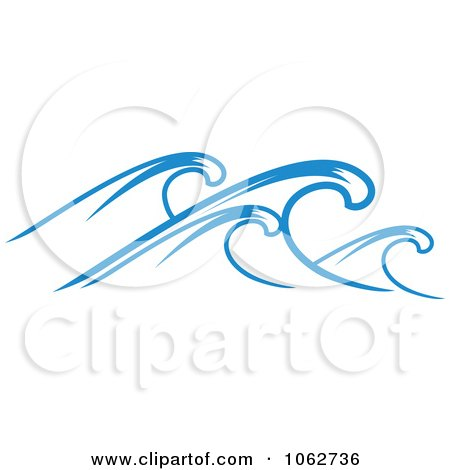 Clipart Ocean Wave Design Element 1 - Royalty Free Vector Illustration by Vector Tradition SM