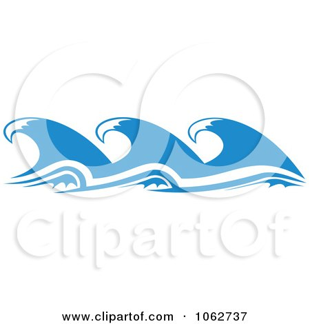 Clipart Ocean Wave Design Element 8 - Royalty Free Vector Illustration by Vector Tradition SM
