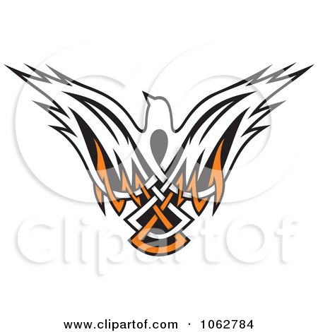 Clipart Tribal Dove - Royalty Free Vector Illustration by Any Vector