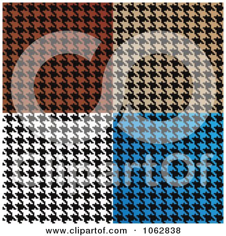 Royalty-Free (RF) Houndstooth Clipart, Illustrations, Vector ...