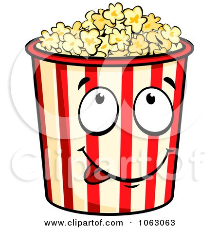 Hungry Popcorn Container Posters, Art Prints