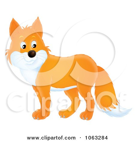 Clipart Fox Royalty Free Illustration