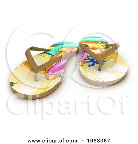 48c25ddf7b092b Royalty-Free (RF) Sandal Clipart