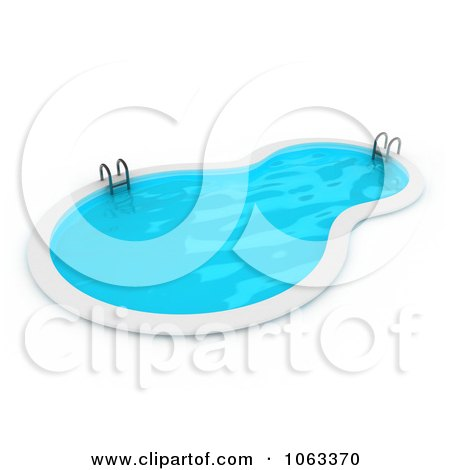 Clipart of diverse kids at a pool party royalty free for Pool koi goggles