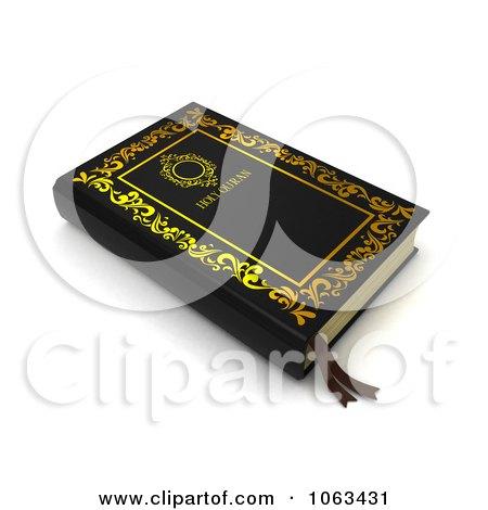 Clipart 3d Quran - Royalty Free CGI Illustration by BNP Design Studio