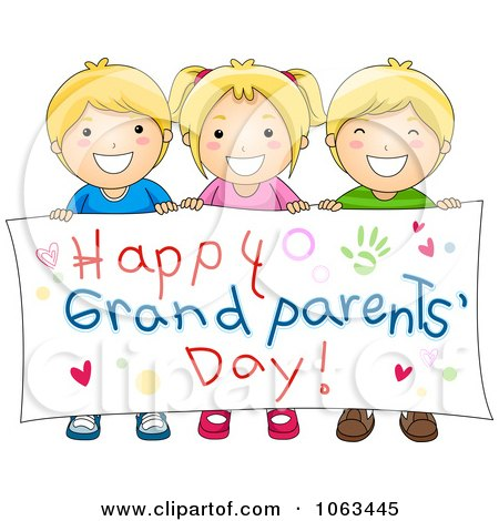 Grandparents Day Clip Art for Preschoolers