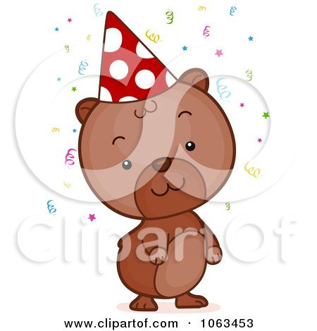 Clipart Birthday Hamster - Royalty Free Vector Illustration by BNP Design Studio