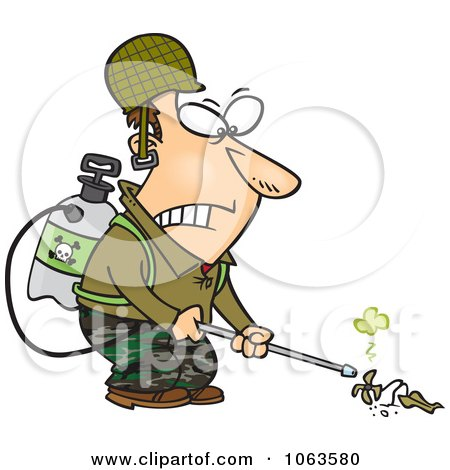 Weed Killer Sprayer Clip Art