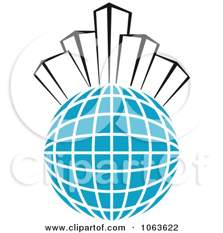 Clipart Highrise Logo 4 - Royalty Free Vector Illustration by Vector Tradition SM
