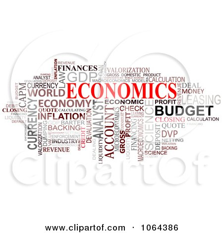 Economics Word Collage Posters, Art Prints by Vector Tradition SM ...