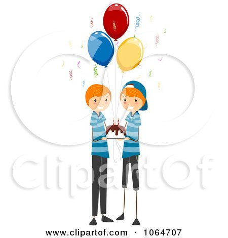 Royalty-Free (RF) Clipart of Identical Twins, Illustrations ...