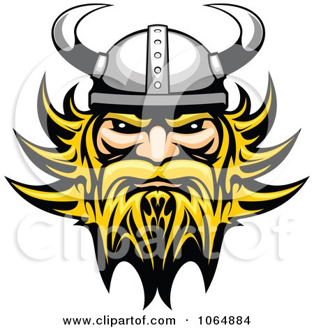 Clipart Tough Viking - Royalty Free Vector Illustration by Vector Tradition SM