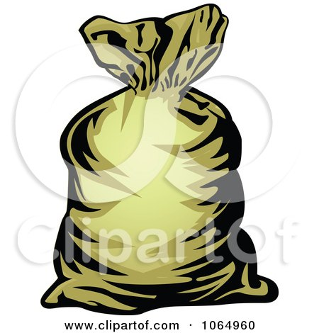 Clipart Money Bag 1 - Royalty Free Vector Illustration by Vector Tradition SM