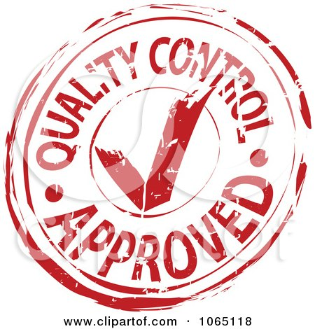 Royalty-Free (RF) Quality Control Approved Clipart ...