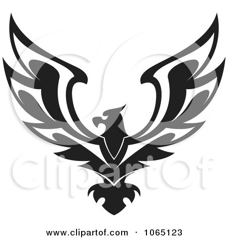 Clipart Eagle 4 - Royalty Free Vector Illustration by Vector Tradition SM