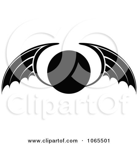 Clipart Black And White Wings 20 - Royalty Free Vector Illustration by Vector Tradition SM
