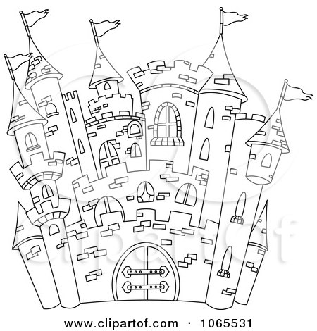 Castle Tattoo Designs