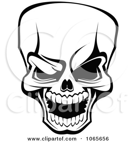 Preview Clipart · Scary Skull