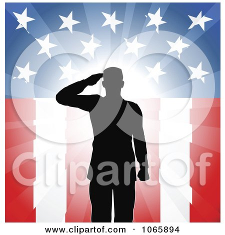 American Flag Vector on Over American Flag   Royalty Free Vector Illustration By Geo Images