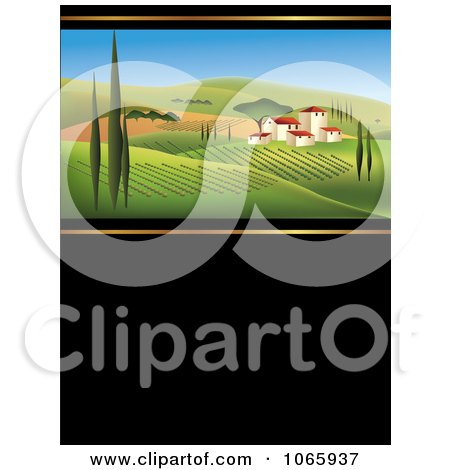 Clipart Italian Winery - Royalty Free Vector Illustration  by Eugene