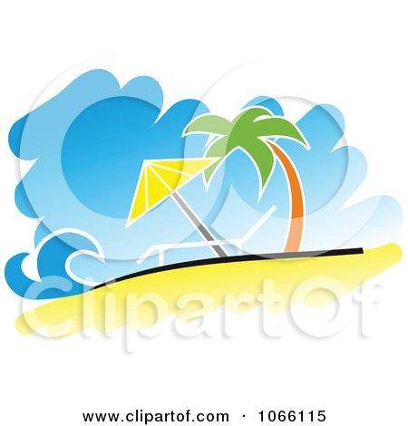 Relaxing Tropical Beach Posters, Art Prints