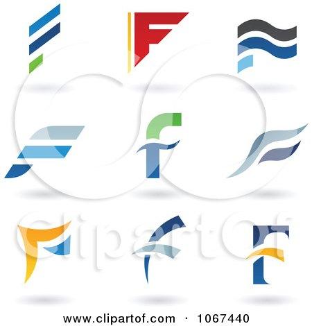 Letter F Logo Icons  F Logo Design Vector