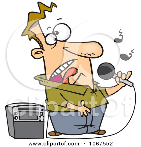Royalty-Free (RF) Karaoke Machine Clipart, Illustrations ...