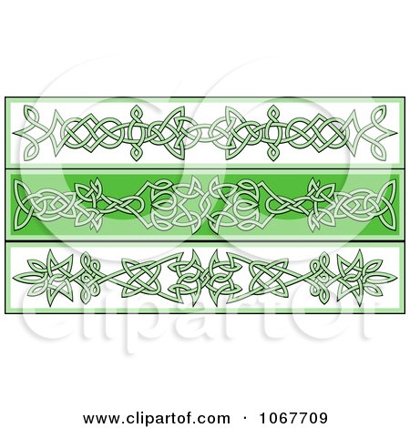 Clipart Irish Celtic Borders 2 - Royalty Free Vector Illustration by Vector Tradition SM