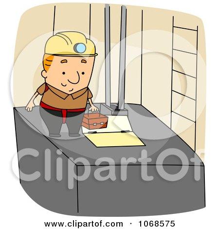 Clipart Elevator Installer - Royalty Free Vector Illustration by ...