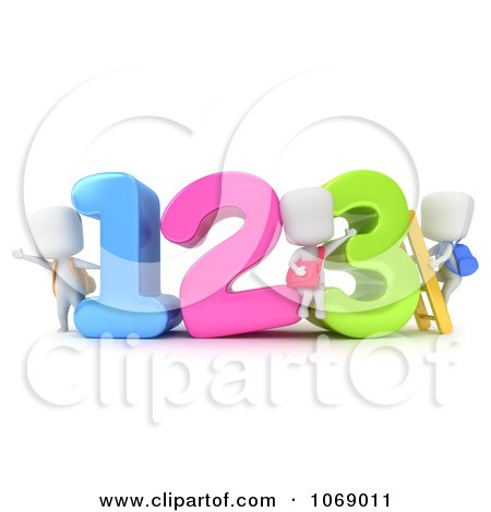Free Number Clipart Kids - 21.6KB
