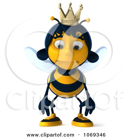 Royalty Free Rf Sad Bee Clipart Illustrations Vector