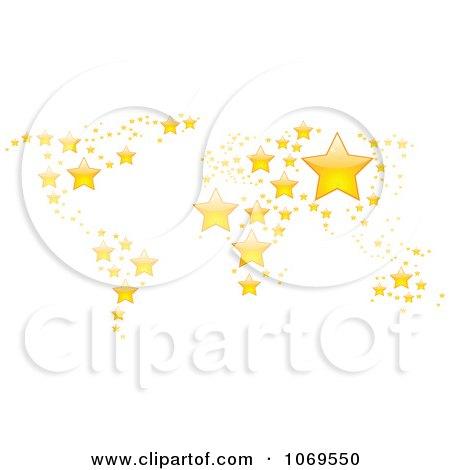 Clipart Star World Atlas - Royalty Free Vector Illustration by Andrei Marincas