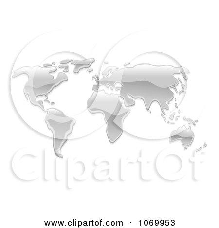 Clipart 3d Mercury World Atlas - Royalty Free Vector Illustration by AtStockIllustration