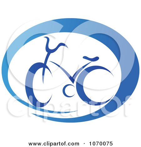 Clipart Cyclist Icon 4 - Royalty Free Vector Illustration by Vector Tradition SM