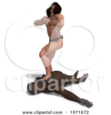 Sexy tarzan in jangal porn