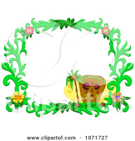 Royalty Free Border Il...Clipart Flowers And Butterflies Border