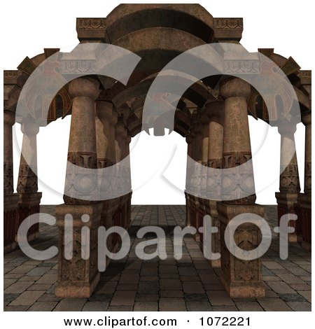 Clipart 3d Medieval Fantasy Pathway 3 - Royalty Free CGI Illustration by Ralf61