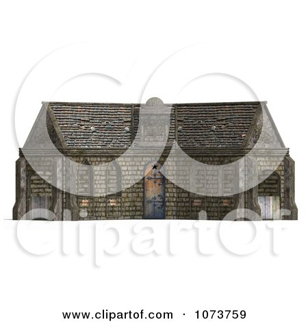 Clipart 3d Medieval Stable Building 1 - Royalty Free CGI Illustration by Ralf61