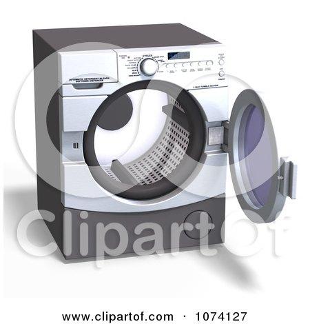Empty Laundry Basket Clipart Royalty-Free (RF) Fron...