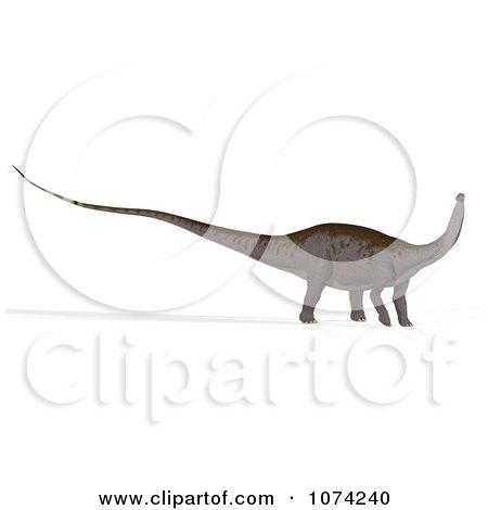 Clipart 3d Prehistoric Apatosaurus Dinosaur 6 - Royalty Free CGI Illustration by Ralf61