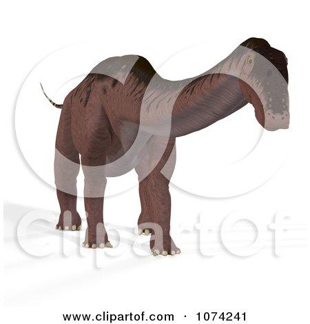 Clipart 3d Prehistoric Apatosaurus Dinosaur 7 - Royalty Free CGI Illustration by Ralf61