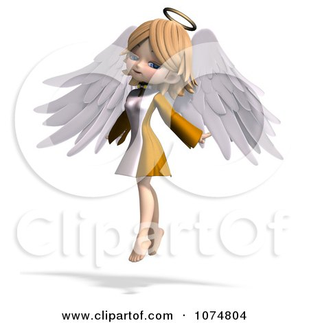 RoyaltyFree RF Angel Clipart amp Illustrations 3