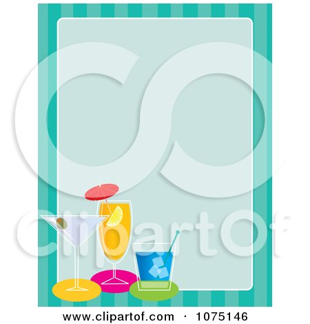 Royalty Free Stock Illustrations of Beverages by Maria ...