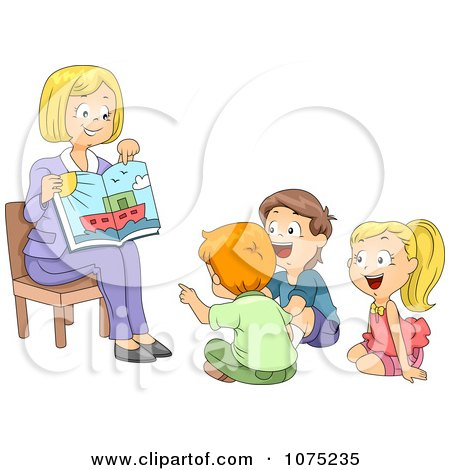 Teacher Reading A Book Clipart - More information