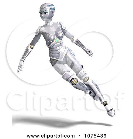 Futuristic Robot Drawings 3d Futuristic Female Sci fi