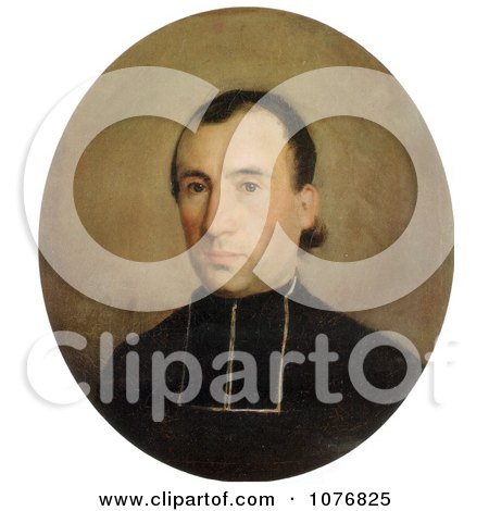 Portrait of Eugene Bouguereau, by William-Adolphe Bouguereau - Royalty Free Historical Clip Art  by JVPD