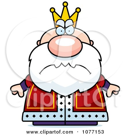 clipart mad royal king royalty free vector illustration by cory rh clipartof com rose clipart black and white royal clipart border